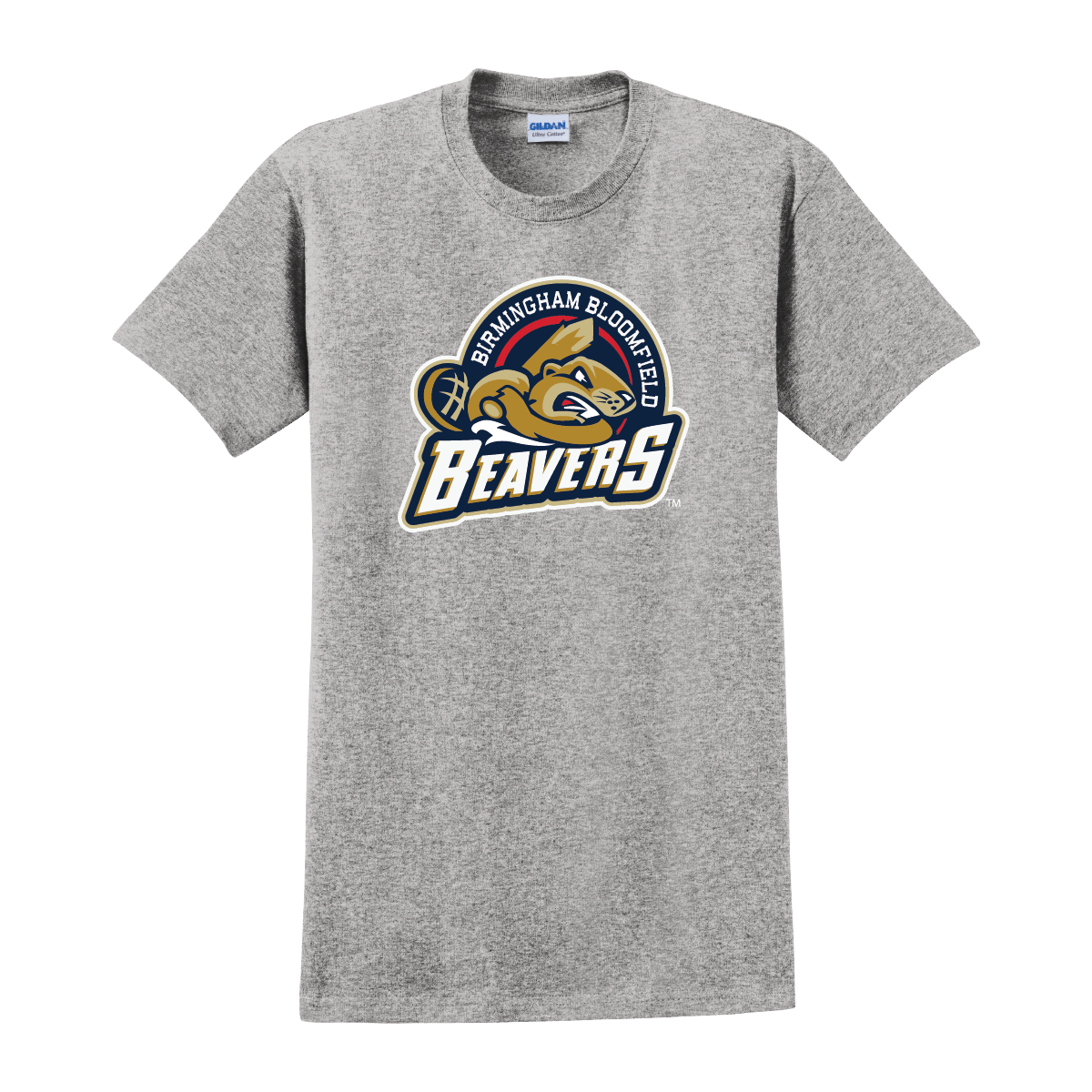 Men's Beavers Short Sleeve Crew Neck Tee