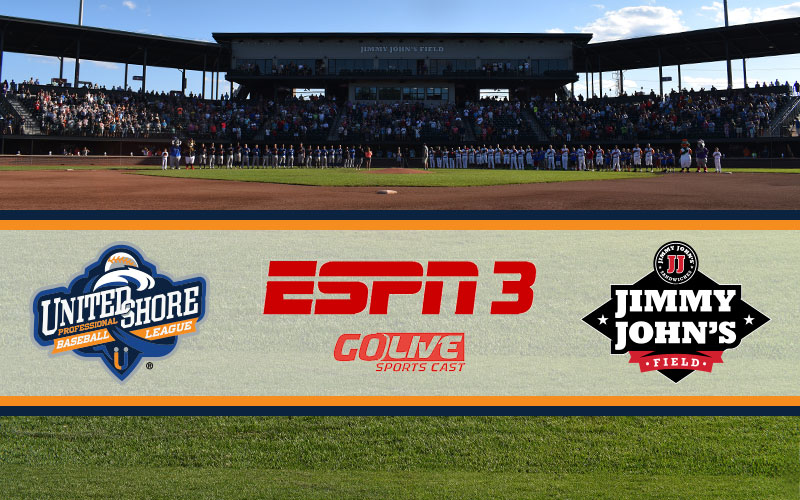 ESPN3 To Feature USPBL Games This Season – United Shore Professional