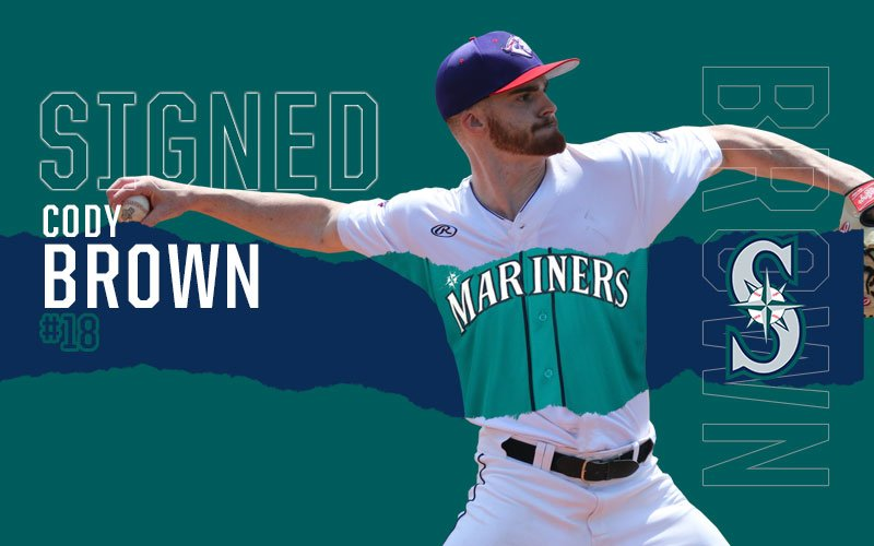 picture regarding Mariners Printable Schedule known as Cody Brown Inks Deal with Seattle Mariners United