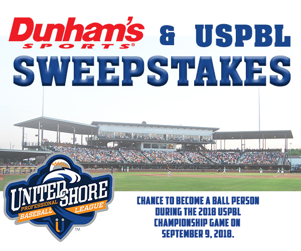 image about Dunhams Coupons Printable named Dunhams / USPBL Championship Activity Sweepstakes United Shore