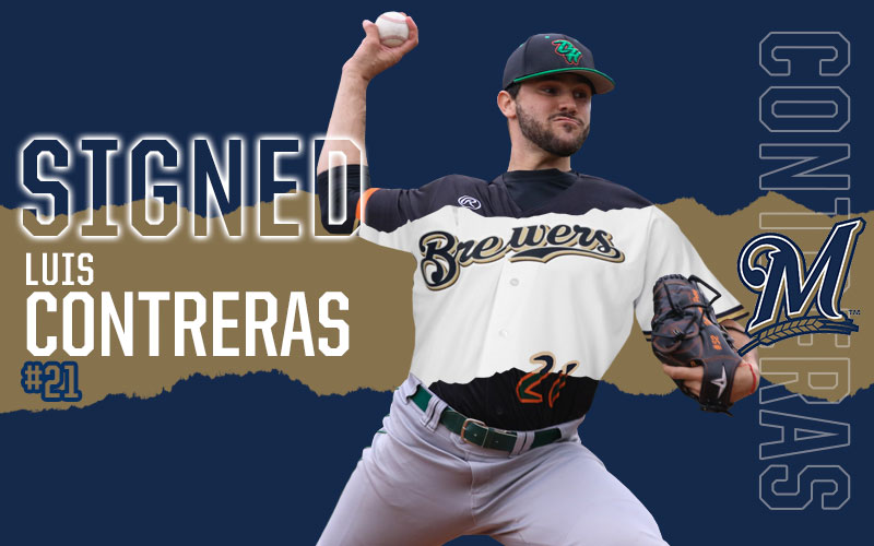 Luis Contreras Signs With Milwaukee